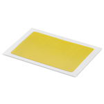 HID UHF Paper Label 54x34mm MR6P yellow - 100pcs