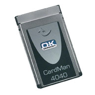 HID OMNIKEY® 4040 Mobile PCMCIA Smart Card Reader