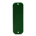 HID SlimFlex Tag 77x25mm green w 3mm hole- 100pcs